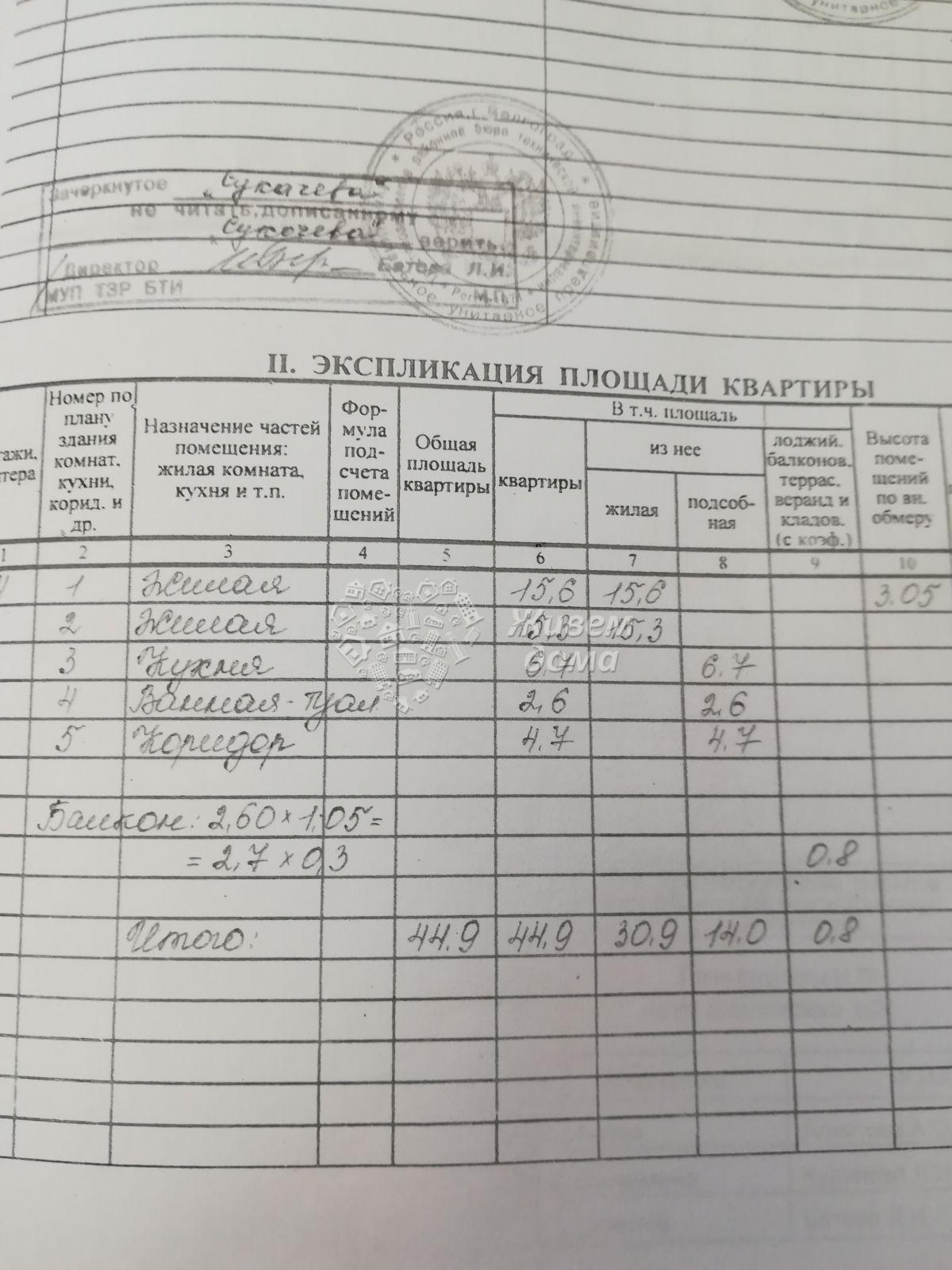 2-комн. , Волгоградская область, Волгоград, Тракторозаводский, им Дзержинского ул, 27