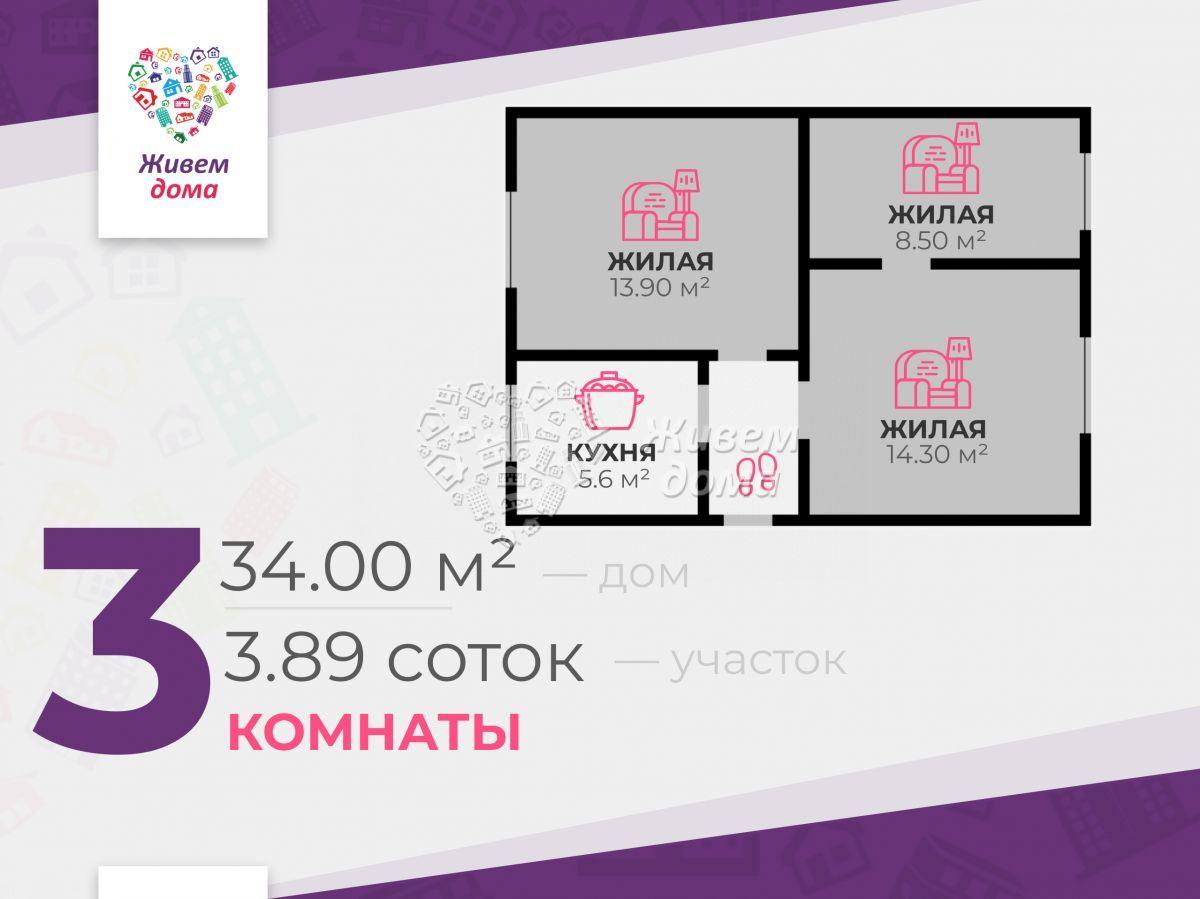 Часть Дома на продажу по адресу Россия, Волгоградская область, Волгоград, Маяковского